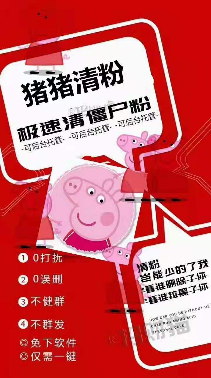 猪猪清理僵尸粉周卡【云端清粉周卡】